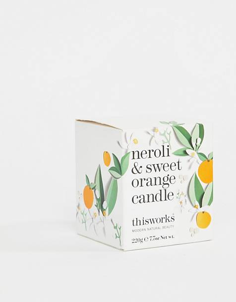 This Works Neroli & Sweet Orange Candle 220g