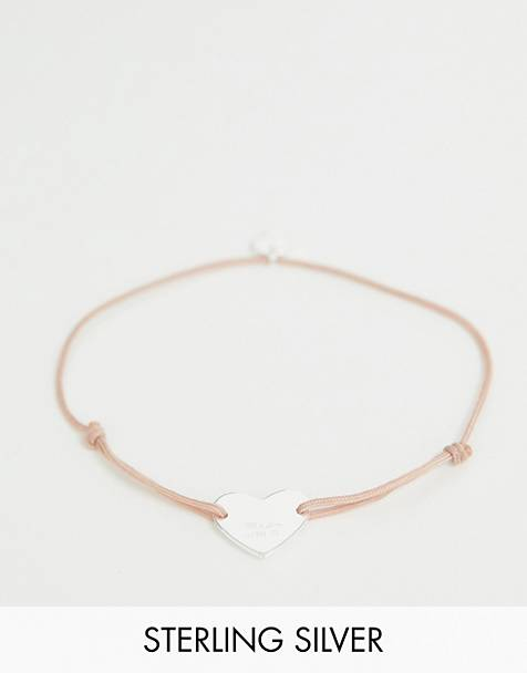Thomas Sabo little secret sterling silver heart bracelet