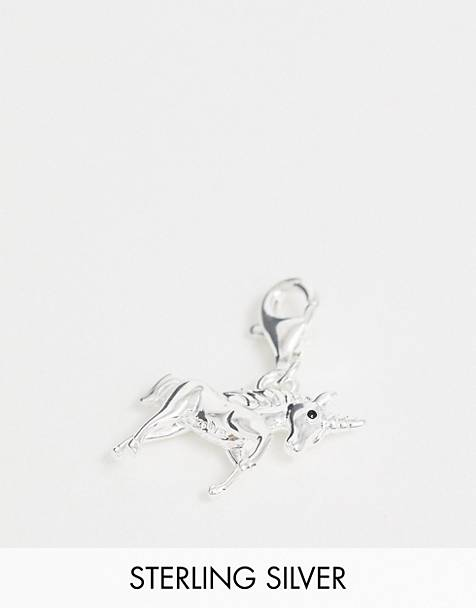 Thomas Sabo sterling silver unicorn charm