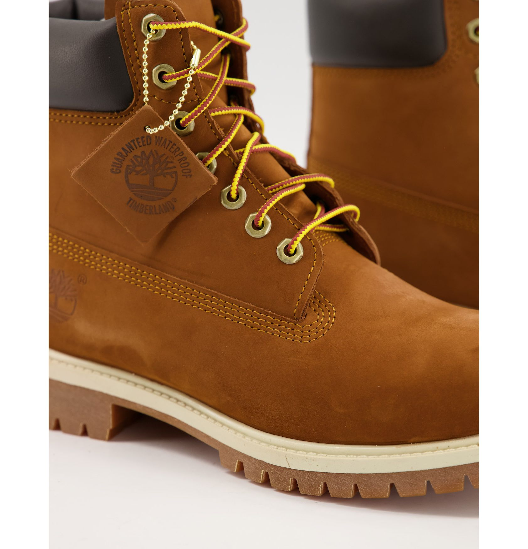 Timberland 6 inch Premium boots in rust -  Price Checker