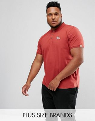Image 1 of Tokyo Laundry PLUS Slim Fit Stretch Polo