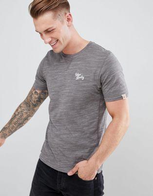 Tokyo Laundry - T-Shirt met ronde hals in space dye