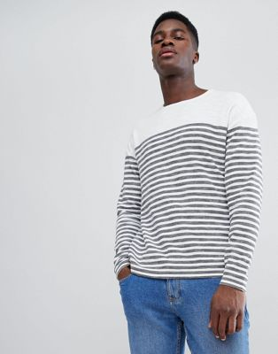 Image 1 of Tom Tailor Jumper With Fine Stripe
