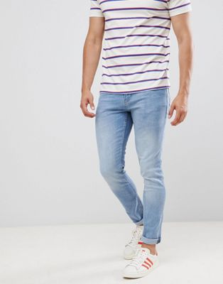 Tom Tailor Skinny Jeans In Light Stone Blue