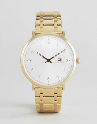 Tommy Hilfiger 1791337 Slim Gold Bracelet Strap Watch