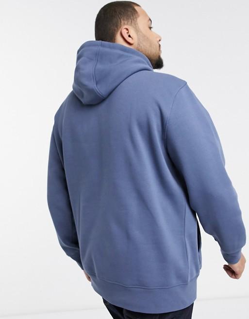 Tommy Hilfiger - Big & Tall - Hoodie à logo - Bleu