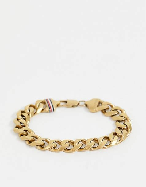 Tommy Hilfiger chain link bracelet in gold