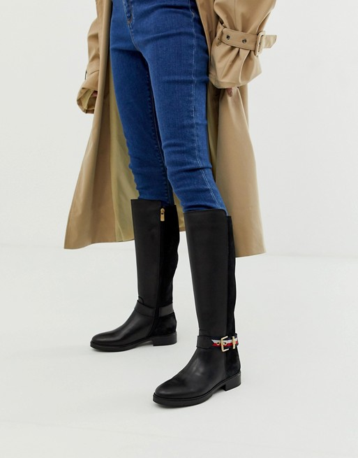Tommy Hilfiger knee high boot