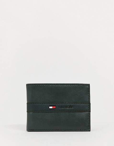 Tommy Hilfiger leather wallet in brown