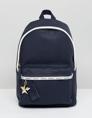 Tommy Hilfiger - Mini sac à dos avec bande logo