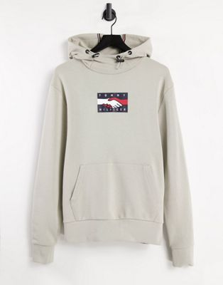 Tommy Hilfiger authentic full zip lounge hoodie with side logo taping in navy - ASOS Price Checker