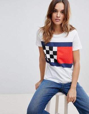 Tommy Hilfiger Racing Flag T-Shirt