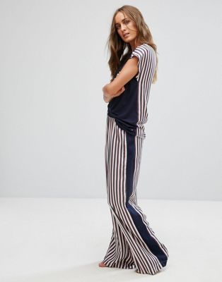 Tommy Hilfiger Silky Woven Wide Leg Pant