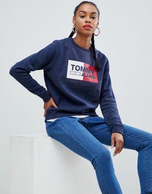 Tommy Jeans - Essential - Sweat-shirt à logo