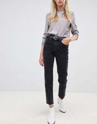 Tomorrow highwaisted straight leg jean with organic cotton