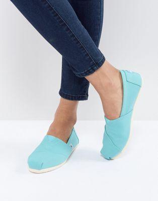 TOMS - Alpargata - Chaussures en toile - Turquoise