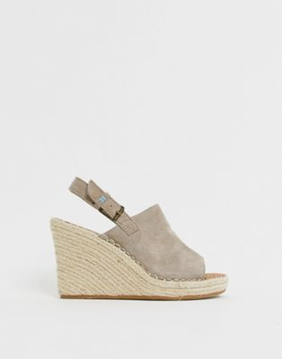 Image 1 of Toms Monica Espadrille Wedge Sandal