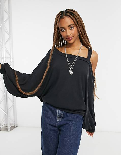 Top de punto negro Flaunt it de Free People