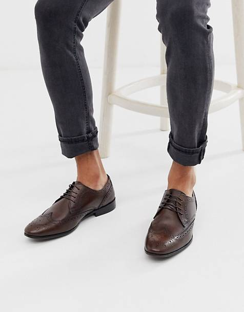 Topman brogues in brown