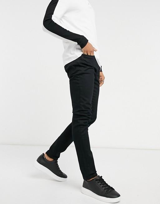 Topman – Enge Jeans in Schwarz