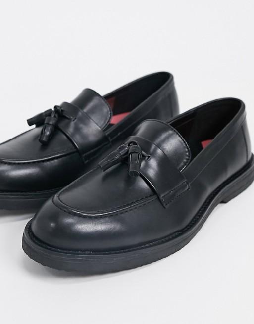 Topman - Mocassins Style Chunky Noir