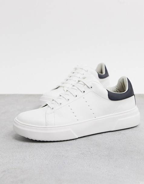 Topman trainers in white with black detail
