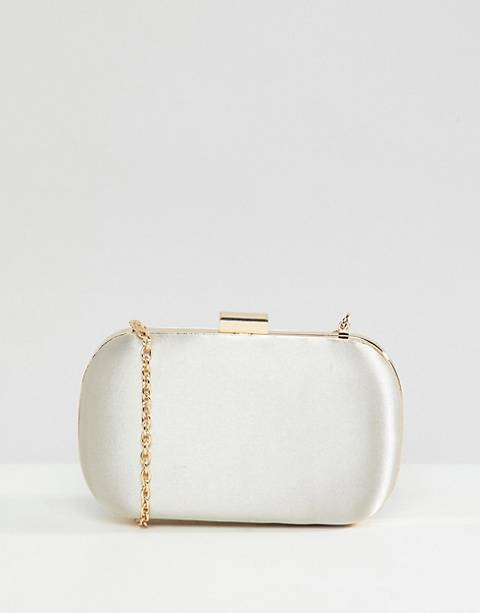 True Decadence - Pochette rectangulaire en satin - Champagne