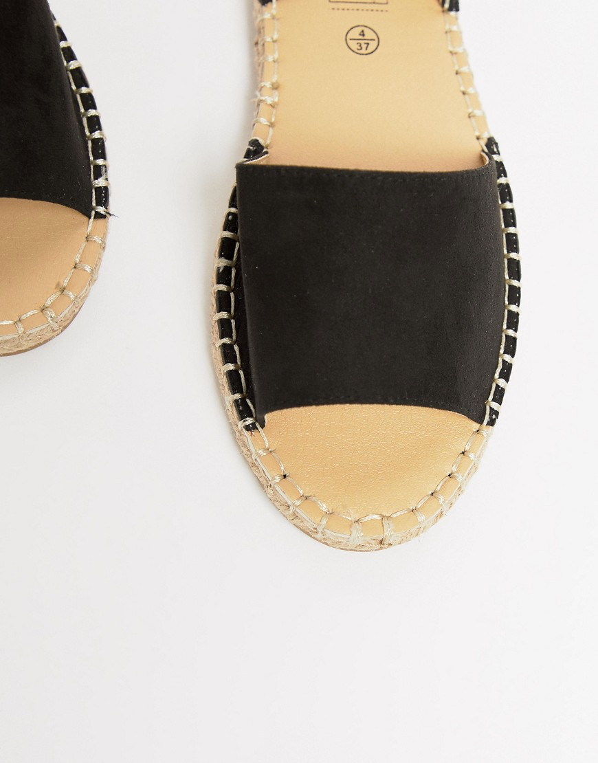 Truffle Collection Espadrille Flat Sandals by Shoes