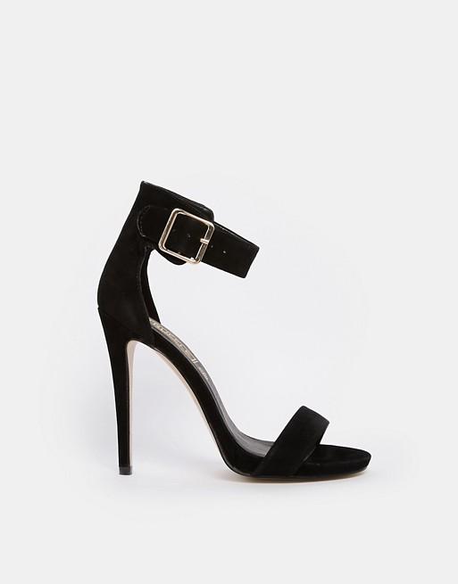Truffle Rita Ankle Strap Heeled Sandals