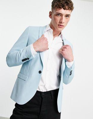 Twisted Tailor SB1 Peak Jacket in white windowpane check - ASOS Price Checker
