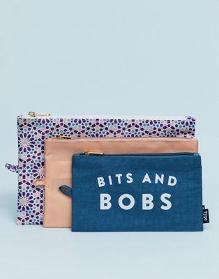 Image 1 of Typo 3 piece travel bag set