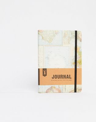 Typo A5 Buffalo Map Notebook