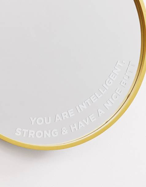 Typo feel good circular mirror