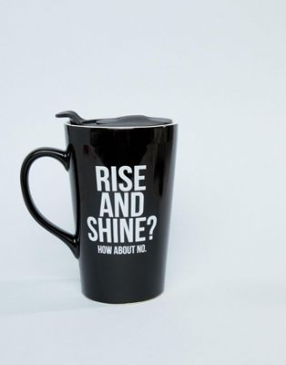 Typo – Rise and Shine – Becher für unterwegs