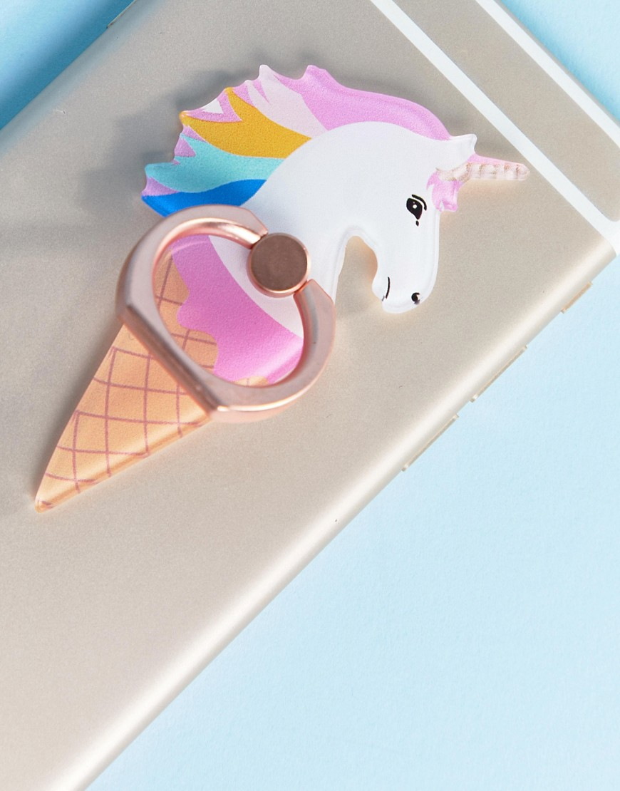 Typo Unicorn Phone Ring by Typo