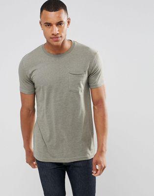 Удлиненная футболка с карманом и ступенчатым краем Redefined Rebel