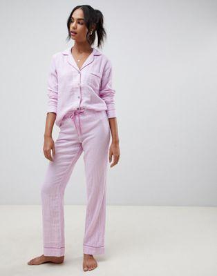 UGG - Raven - Pyjama en flanelle rayée