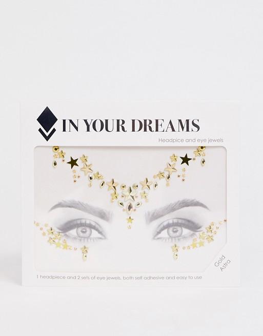 Украшения для лица In Your Dreams Gold Astra