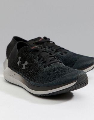 Under Armour - Hardlopen - Blur - Sneakers in zwart 3000008-101