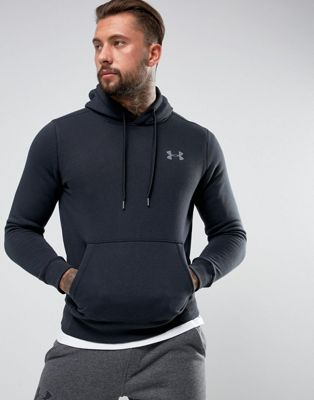 Under Armour Rival Pullover Hoodie In Black 1302292-001
