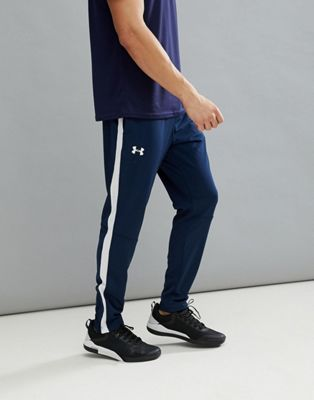 Under Armour Training Track Joggers In Blue 1313201-408