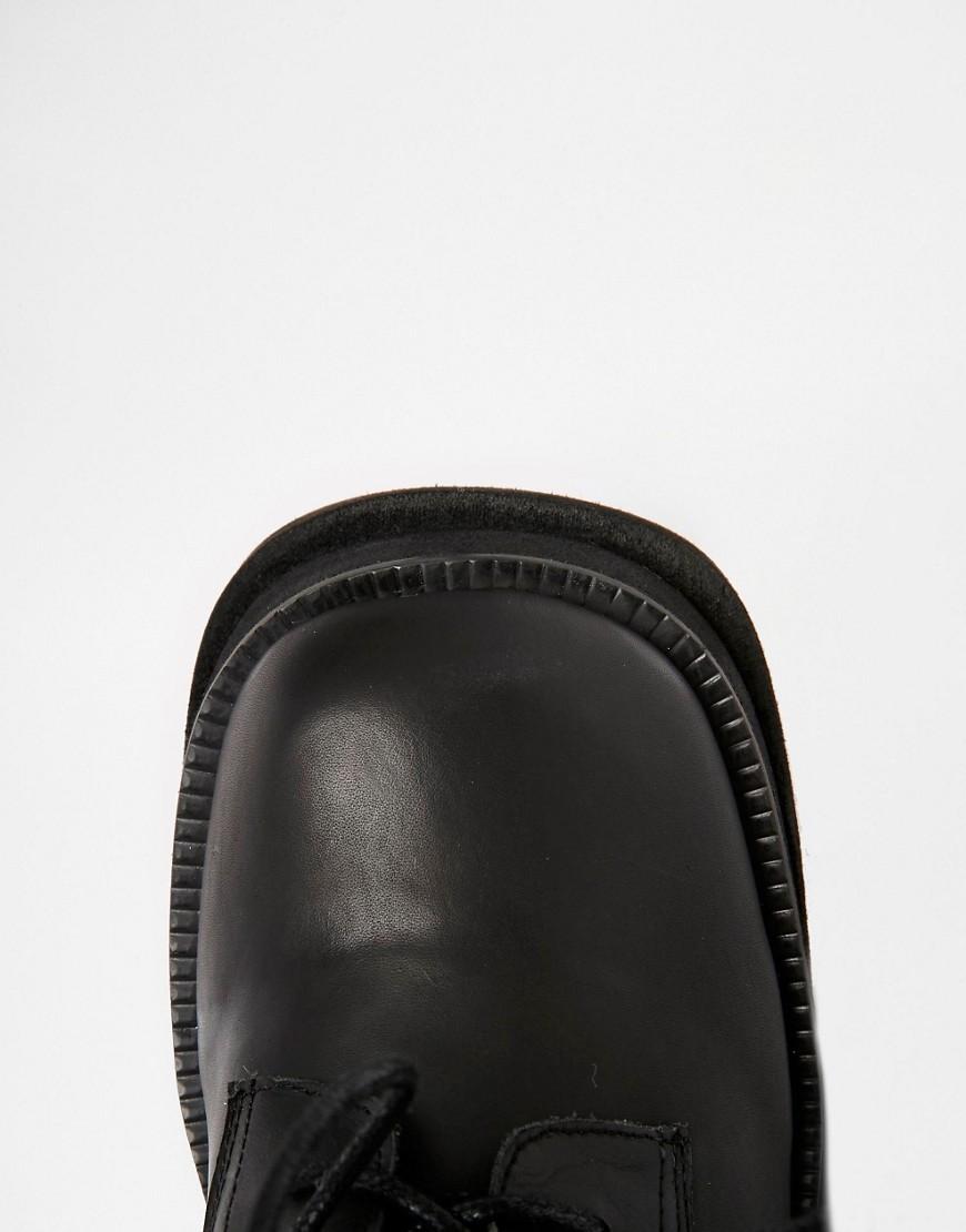 Unif Bratz Black Lace Up Boots by Unif
