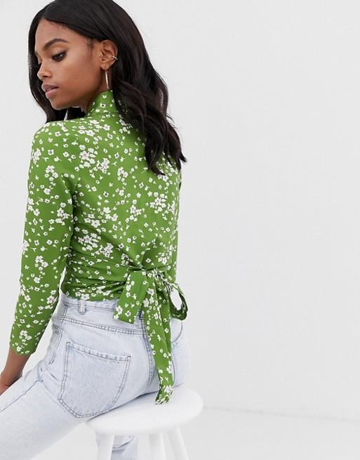 Bild 1 von Unique21 – Chiffonhemd mit Bindedetail vorn