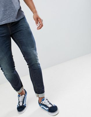 United Colors Of Benetton – Enge Jeans in mittlerer Waschung