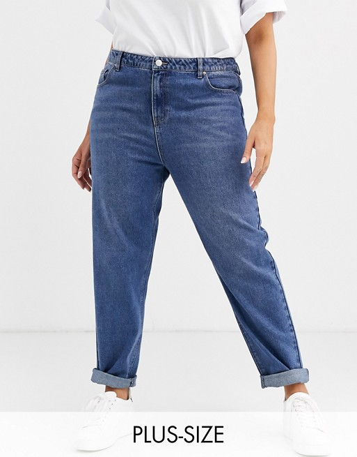 "Urban Bliss Plus – Jeans i ""mom jeans""-modell"