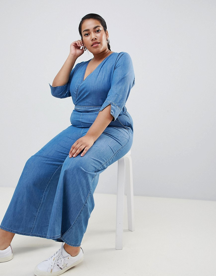 Urban Bliss Plus Wide Leg Jumpsuit by Urban Bliss Plus