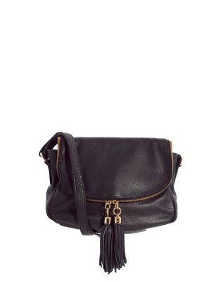Image 1 of Urban Code Leather Black Crossbody Bag