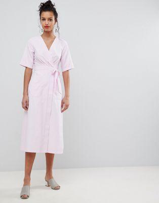 Uttam Boutique Wrap Midi Dress