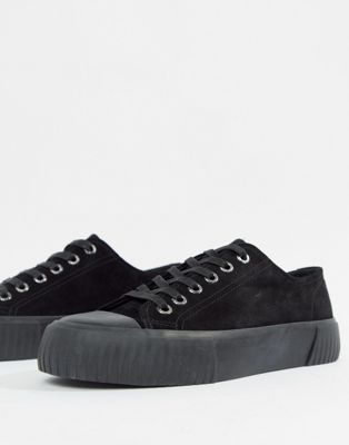 Vagabond – Ashley – Flatform-sneakers i mocka