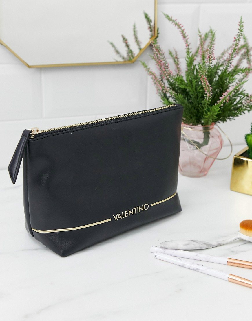 Valentino by Mario Valentino Jingle black make up bag